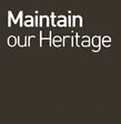 Maintain our heritage Logo